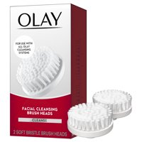 Olay Facial Cleansing Brush Heads, 2 Count