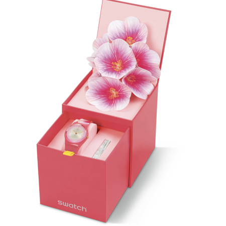 Swatch 2019 Mother Day Fiore di Maggio Limited Watch New with Box