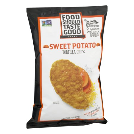Food Should Taste Good Sweet Potato Chips   Oz