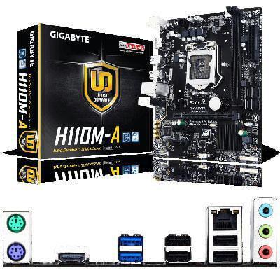 Gigabyte Technology Lga1151 Atx Micro H110 Chipset