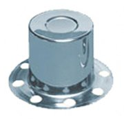 TOPLINE WHL C129 Wheel Center Cap, Chrome