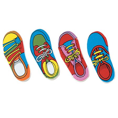 Us Toy Lm124 Shoe Eraser   48 Pieces