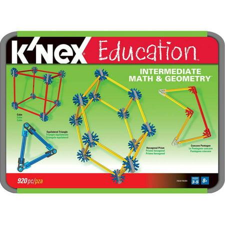 Knex Education  Intermediate Math And Geometry Building Set