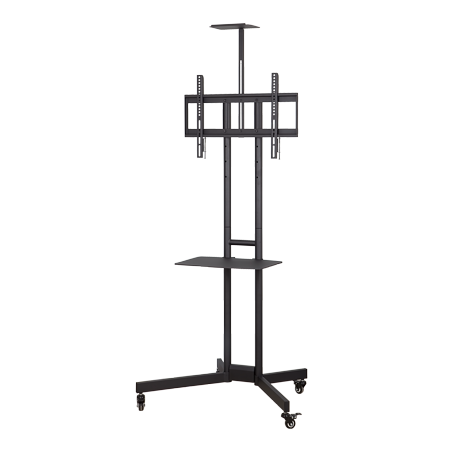 """ONN Fixed Rolling Television Stand, for TVs 32u0022-70"""""""