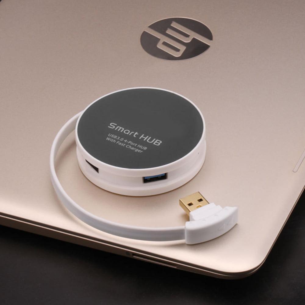 Onten 4 Port USB to USB 3.0 Hub. USB 3.0 Smart Hub splitter ...