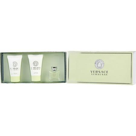 Versace Versense Set-Edt .17 Oz Mini & Body Lotion .8 Oz & Shower - Mini Gifts