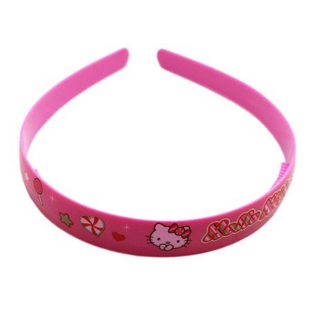 Hello Kitty Candy and Sparkles Pink Colored Girls Headband - Hello Kitty Headband Ears