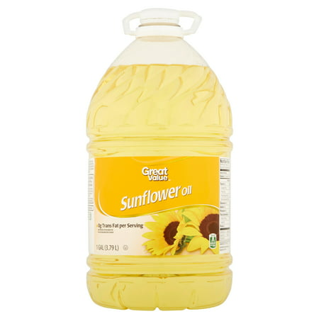 Sunflower Oil China - Great Value Sunflower Oil, 1 Gal