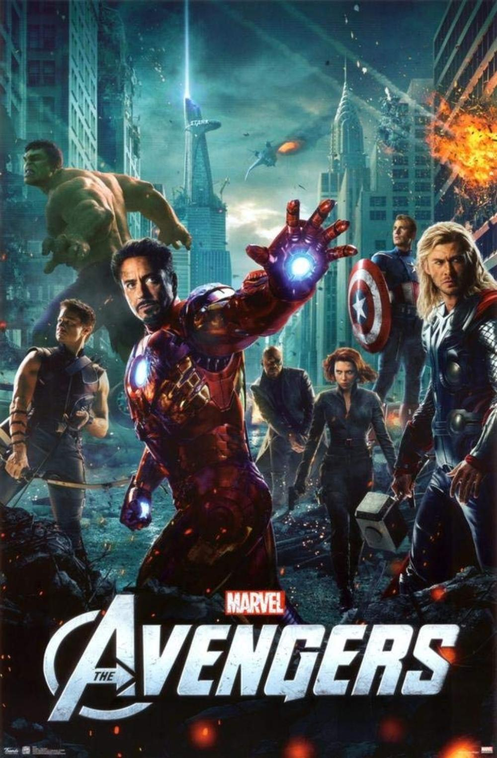 Avengers Age Of Ultron Avengers Poster 22 x 34in