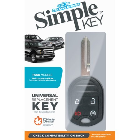 Ford Simple Key 4 Button W Remote Start Walmart Com