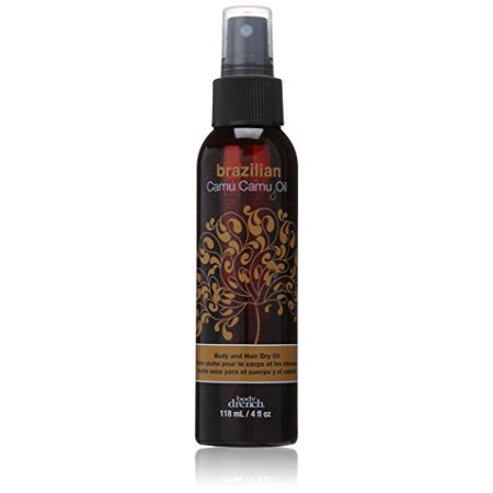 - Body Drench Exotic Brazilian Camu Oil Body and Hair Dry Oil, 4 Ounce