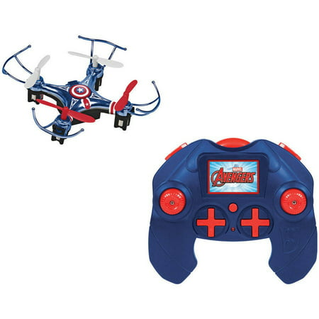 Marvel Avengers Captain America Micro Drone 4.5-Channel 2.4GHz RC Quadcopter