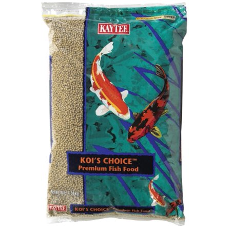 Kaytee products koi 39 s choices 100033590 mini pellet for Fish food walmart