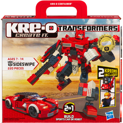 KRE-O Transformers Construction Set, Sideswipe