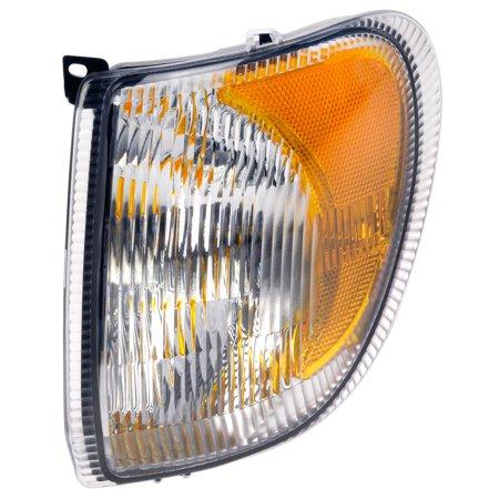 Dorman 888-5121 Turn Signal Light, Clear Lens, Plastic (Clear Lens Cornering Light)