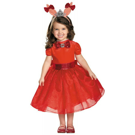 Deluxe Olivia Toddler Costume - Toddler Small](Olivia Costume)