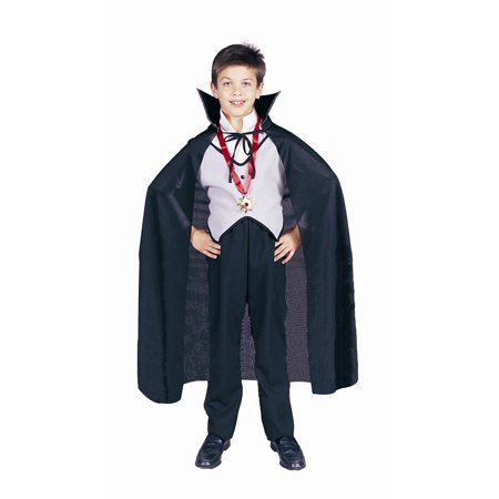 Black Dracula Child Cape](Kids Dracula Costumes)