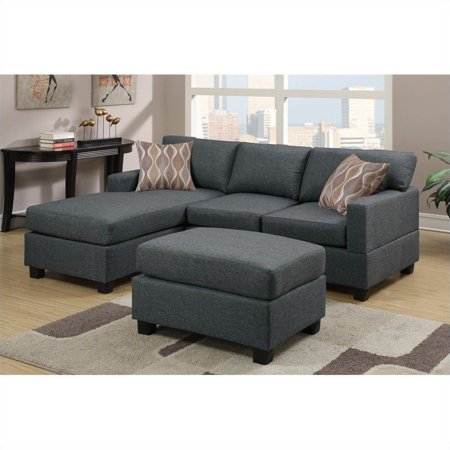 Small Spaces Configurable Sectional Sofa, Multiple Colors