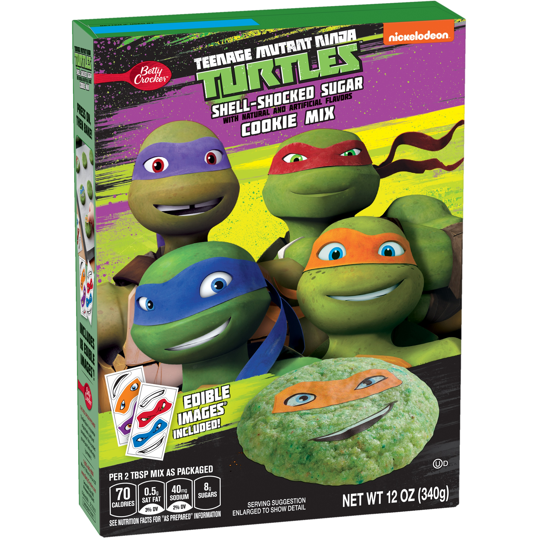Betty Crocker Teenage Mutant Ninja Turtles Sugar Cookie Mix 12 oz