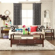 TRIBECCA HOME Ingleby Cherry Drawer Storage Occasional Table Sofa Table