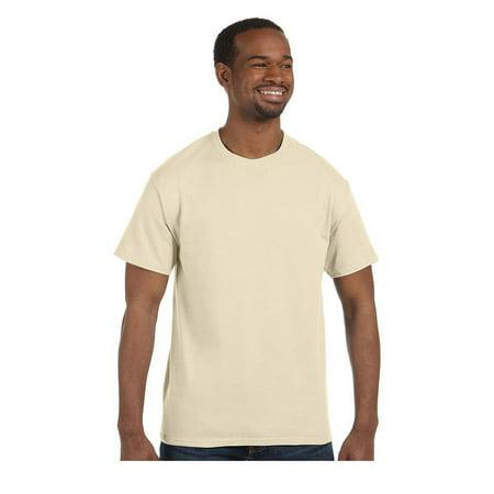 Hanes Tagless Short Sleeve T-Shirt, Style 5250 - Gold Foil Skirt