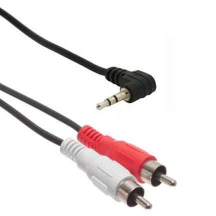 OEM Verizon Universal 2.5mm to RCA Adapter (SHS25-35RCA1) (Bulk Packaging)