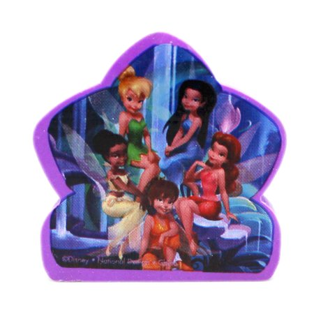 Tinkerbell Erasers - Disney Fairies Group Portrait Violet Colored Eraser