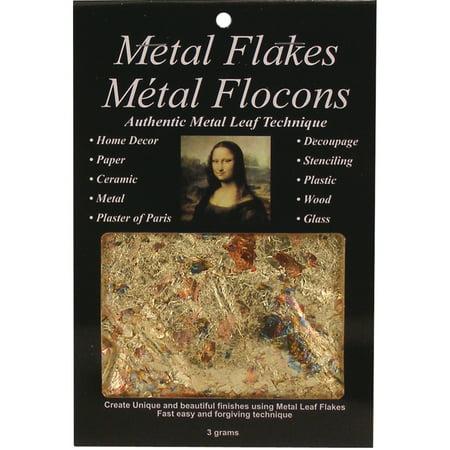 Mona Lisa Metal Leaf Flakes Variegated Peggable Variegated Metal Leaf