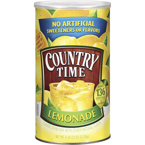 Country Time Lemonade Drink Mix, 82.5 Oz