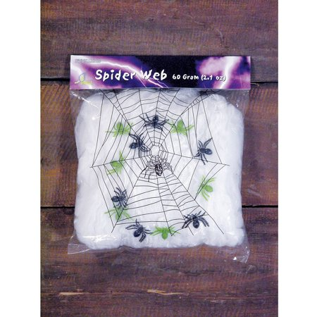 Spider Web with Spiders Halloween Decor, 2.11 oz](Spider Design For Halloween)