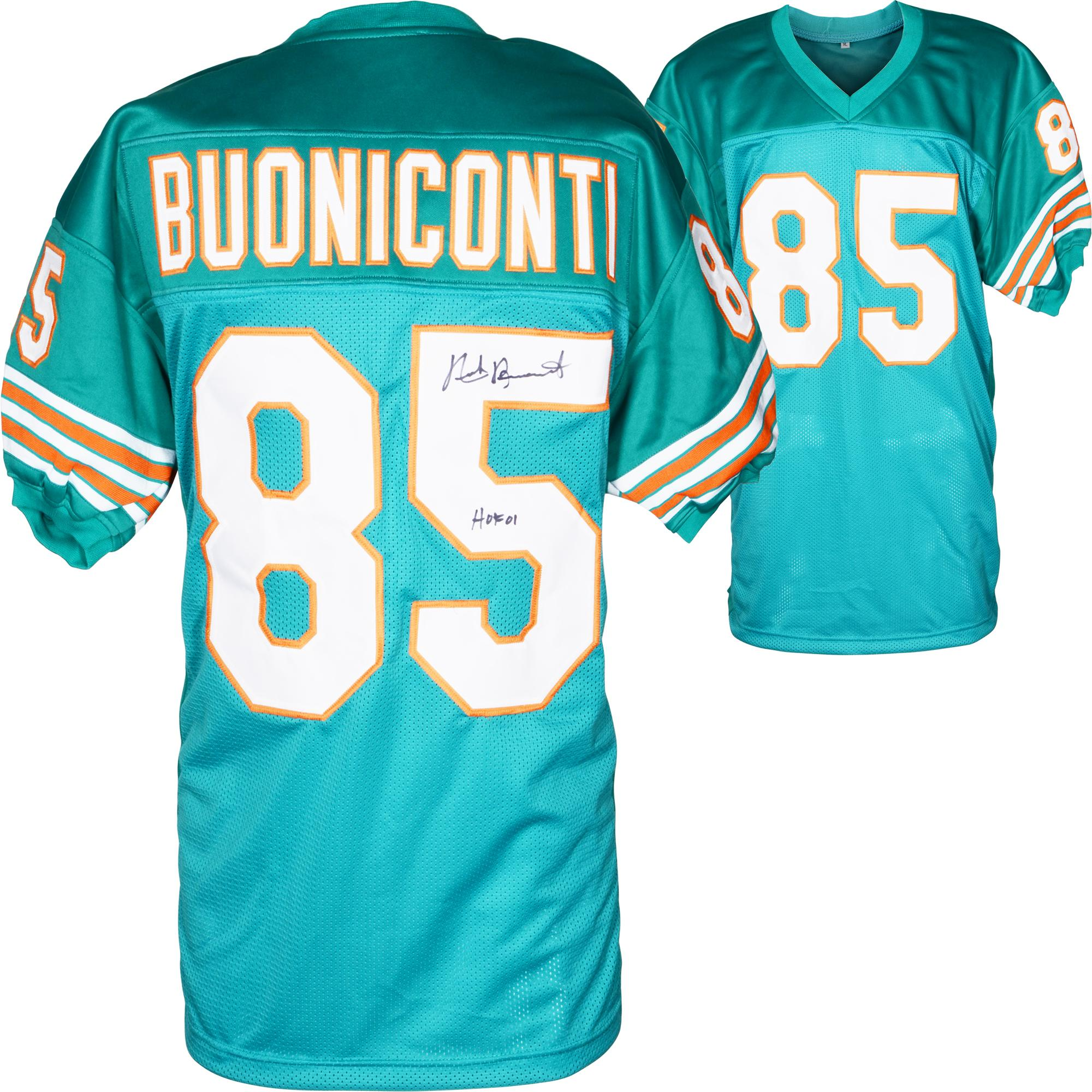 Nick Buoniconti Miami Dolphins Autographed Jersey - HOF 01