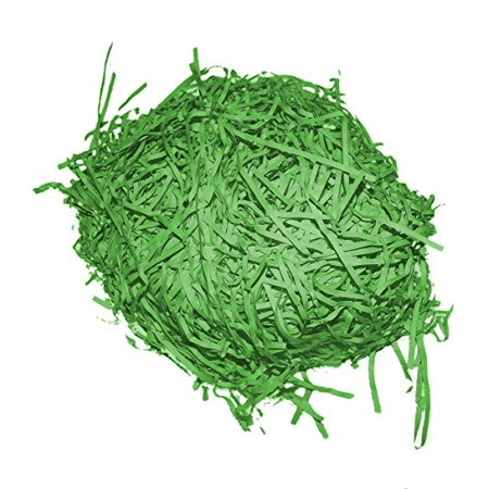 EASTER GRASS GREEN PAPER SHRED - Paper Easter Grass
