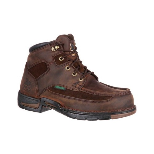 "Men's Georgia Boot G9453 Athens 8"" Moc-Toe by Georgia Boot"