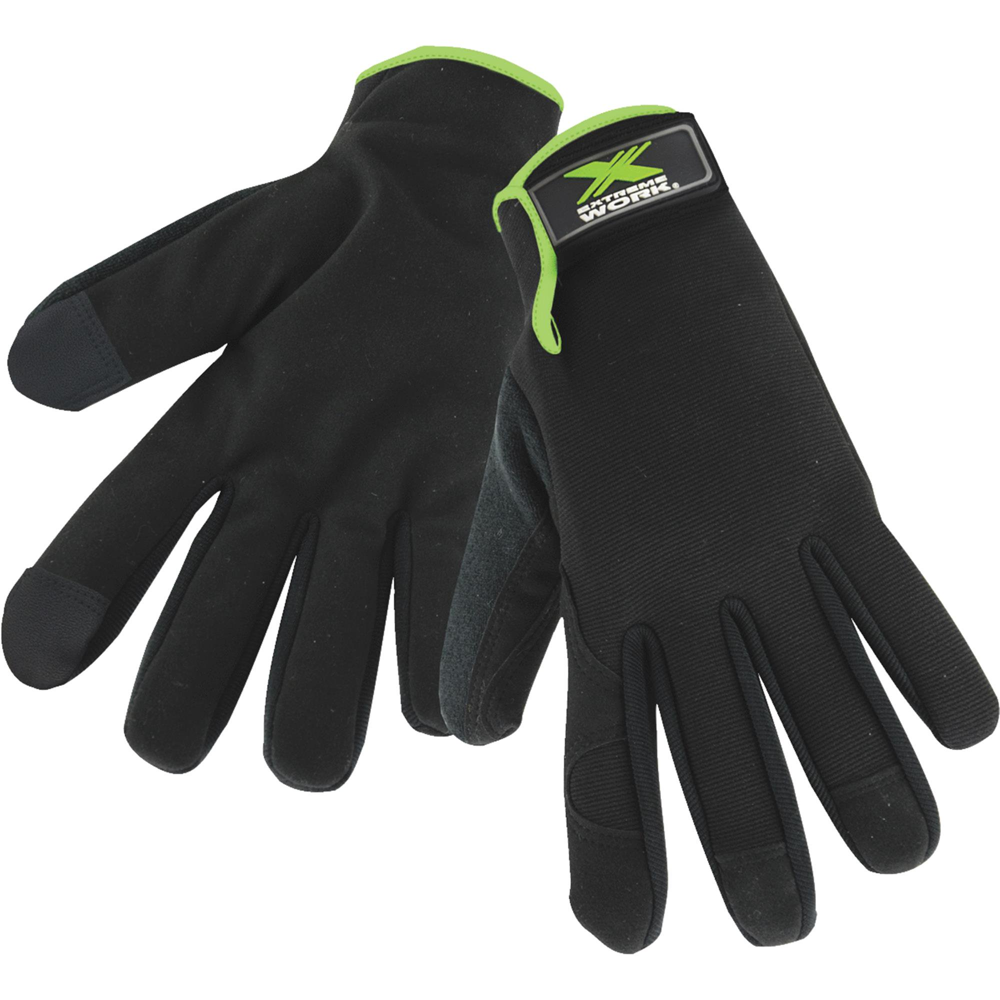 West Chester Extreme Work Mens Synthetic Leather Work Glove