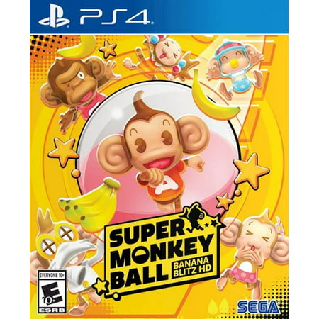 Super Monkey Ball: Banana Blitz HD for PlayStation 4