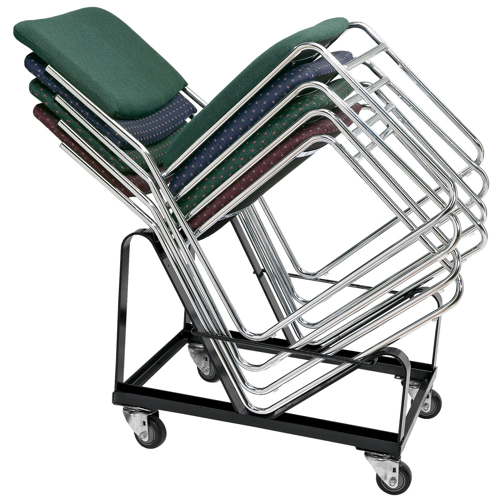Stupendous National Public Seating 8600 Series Stacking Chair Cart Machost Co Dining Chair Design Ideas Machostcouk