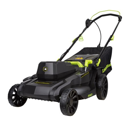 Lawnmaster 18 in. 12.5 Amp Corded Electric Simple Start Walk Behind Push (Best Commercial Walk Behind Mower For Hills)