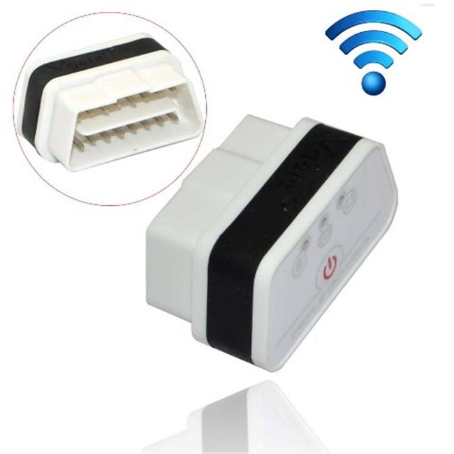 IKKEGOL 10308WB Vgate iCar 2 Mini OBD2 OBD II WiFi Car Diagnostic Scan Tool, Black & W