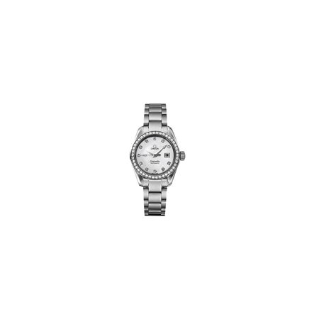 Omega Seamaster Aqua Terra Automatic Movement Mother Of Pearl Dial Ladies Watches 25657500