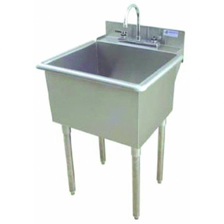 20 Inch Utility Sink : ... 21 inch x 18 inch LT-Series Stainless Steel Standing 1C Utility Sink