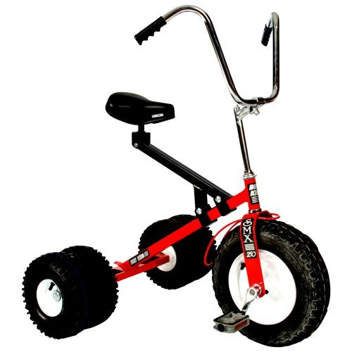 Big Kids Dually Tricycle (Red)