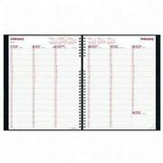 Brownline Hourly Schedule Weekly Planner CB950C.BLK