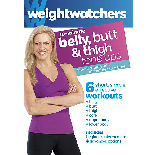 Weight Watchers: 10-Minute Belly, Butt & Thighs Tone Ups (Widescreen)