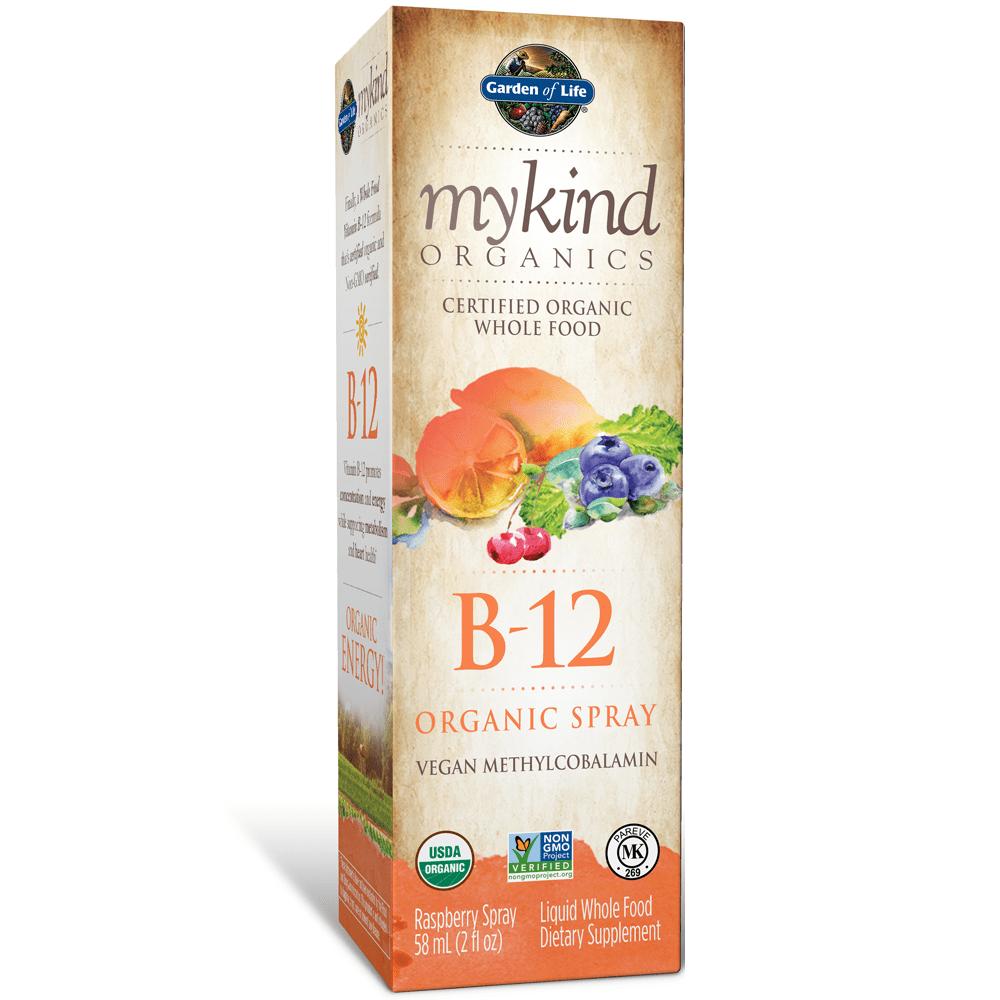 Garden of Life mykind Organics Organics B12 spray 2oz Liquid