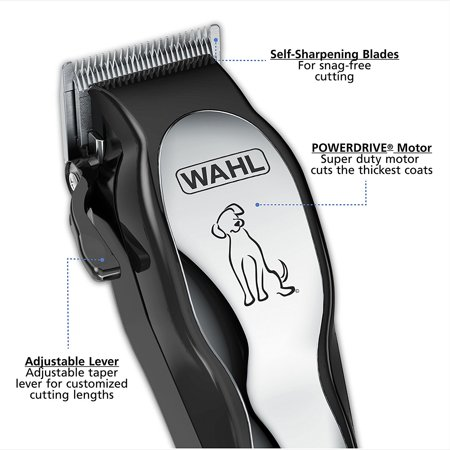 Forster Case Trimmer - Wahl 13 PIECE Pet Trimmer FULL Grooming Kit, with All NEW PowerDrive Cutting System, Hard Storage Case Included