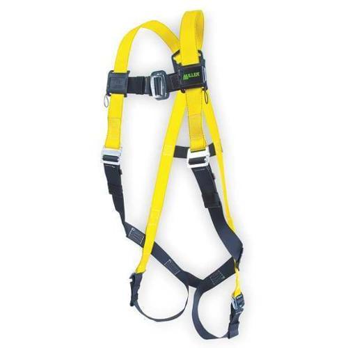 Miller By Honeywell Full Body Harness, Yellow 850/UYK