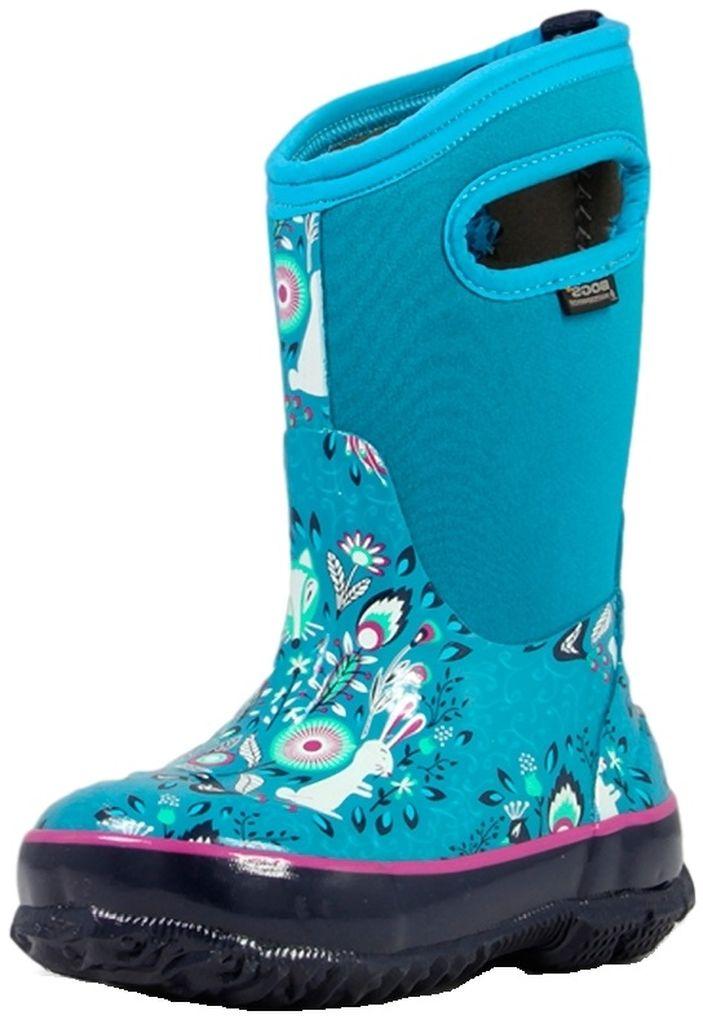 Bogs Boots Girls Kids Classic Forest Waterproof 71851 by Bogs