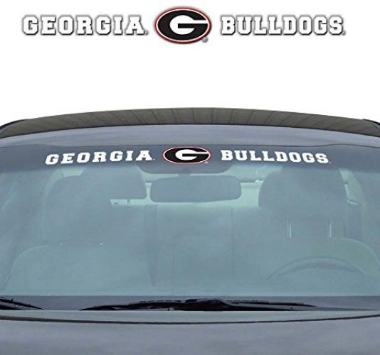 NCAA Georgia Windshield Decal, One Size, One Color
