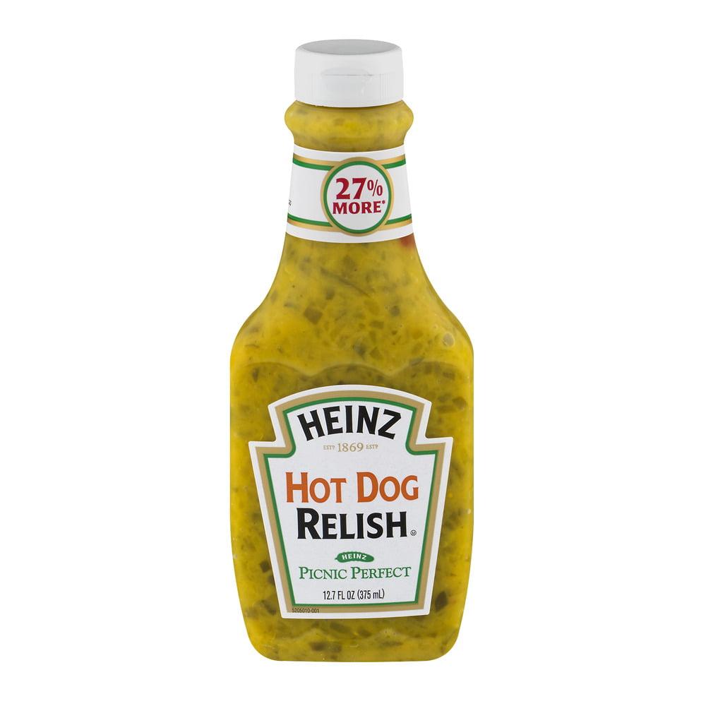 Heinz Relish Hot Dog, 12.7 Fl Oz