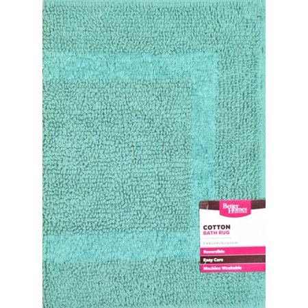 Better Homes And Garden Cotton Reversible Bath Rug Collection Best Bath Rugs Mats